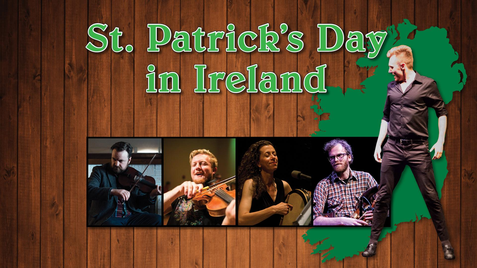 The stars of St. Patrick's Day in Ireland dancing